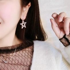 Ticoo - Star Drop Earrings