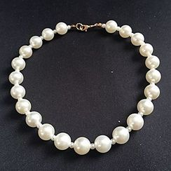 HELLO BABY - Kids Faux-Pearl Necklace