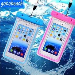 Sunset Hours - Luminous Waterproof Mobile Pouch