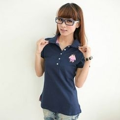 Zosia - Short-Sleeve Polo Shirt