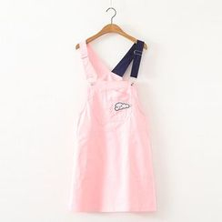 MAOMAO - Color Block Pinafore Dress