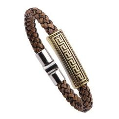 KINNO - Metal Woven Bangle