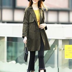 S. Tornado - Buttoned Trench Coat