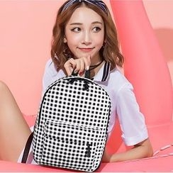 Youme - Gingham Backpack