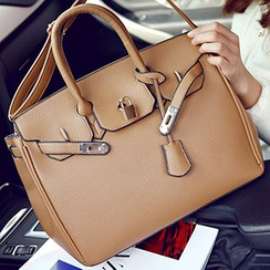 Youme - Faux Leather Handbag