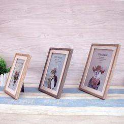 LITUP - Wooden Photo Frame