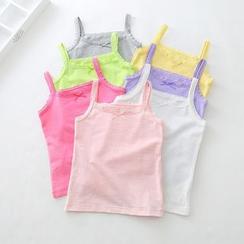 Cuckoo - Kids Lace Trim Camisole Top