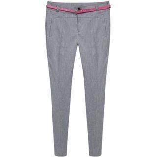 PEPER - Linen Blend Welt-Pocket Dress Pants