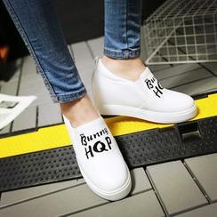 佳美 - 字母內增高輕便鞋