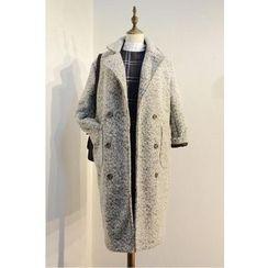 X:Y - Woolen Lapel Coat