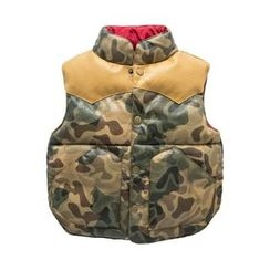 Kido - Kids Faux Leather Padded Vest