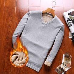 Elkelake - V-neck Sweater