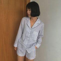 bombee - Striped Pajama Set
