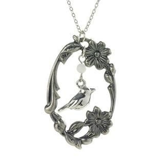 MyLittleThing - Silver Forest Bird Necklace