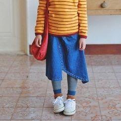 memene - Kids Denim Skirt