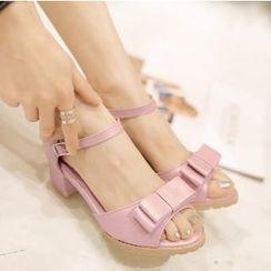 Freesia - Bow Sandals