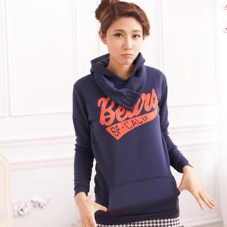 RingBear - Printed Hooded Pullover