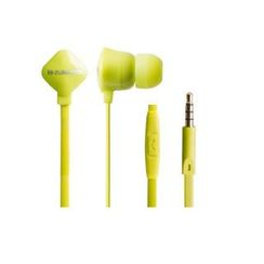 Zumreed - Zumreed ZHP-120S Earphones (with Mic) (Lime Yellow)