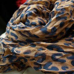 Rita Zita - Leopard Print Light Scarf