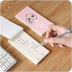 Good Living - Printed Memo Pad