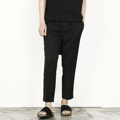 Rememberclick - Band-Waist Dress Pants