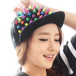 59 Seconds - Multicolored Spike Cap