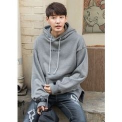 GERIO - Hooded Buckled-Sleeve Sweatshirt