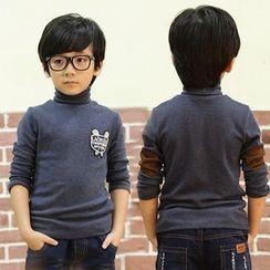 三零九班 - 兒童貼布抓毛內襯上衣