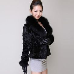 Fluff Snowy - Faux-Fur Jacket