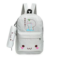 AshTown - Print Zip  Backpack
