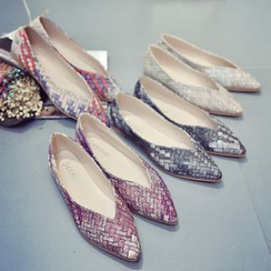 Micha - Braid Pointed Flats