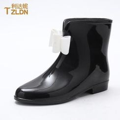 Rivari - Double Bow Short Rain Boots