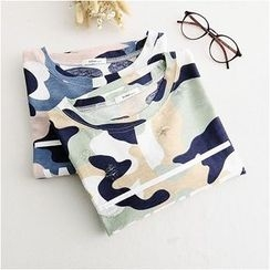 Storyland - Short-Sleeve Camouflage T-Shirt