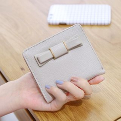 Rinka Doll - Bow Faux Leather Wallet