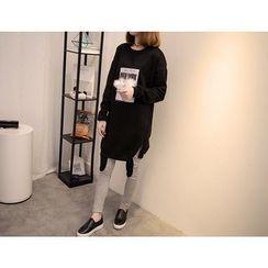 VIZZI - 套装: 长款卫衣 + 内搭裤
