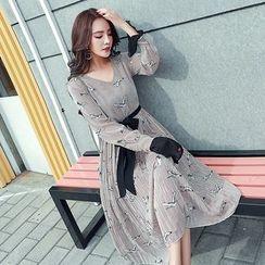 Soraka - Printed Chiffon Dress
