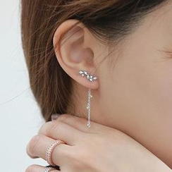 MOMENT OF LOVE - Rhinestone Chandelier Earrings