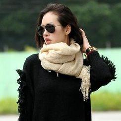 SO Central - 流蘇針織圍巾