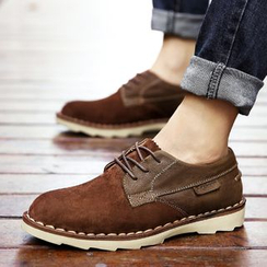 MARTUCCI - Genuine-Leather Paneled Casual Shoes