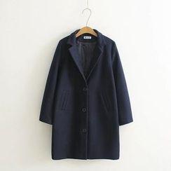 Nycto - Woolen Long Coat