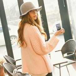 REDOPIN - Drop-Shoulder Chunky-Knit Sweater