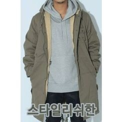 Ohkkage - Hooded Sherpa-Fleece Lined Parka