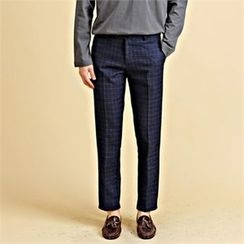 THE COVER - Plaid Dress Pants