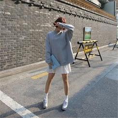 QNIGIRLS - Drop-Shoulder Sweatshirt