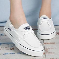 人本 - 帆布船鞋