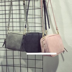 Lamia - Suede Mini Cross Bag