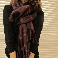 Goddess - Plaid Scarf