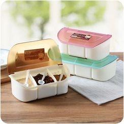 Eggshell Houseware - 三层间隔调味盒