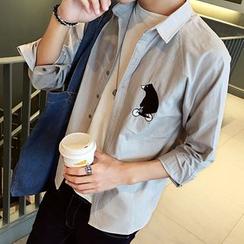 CooLook - 印花长袖衬衫