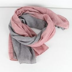 Ms Bean - Two-Tone Scarf